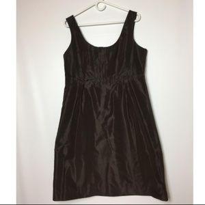 J. Crew Women's Dress Size 16 Silk Brown